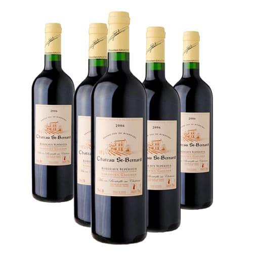 Bordeaux supérieur Château Saint Bernard (33) 1