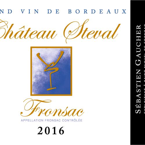 Château Steval Fronsac AOC Magnum 1.5L