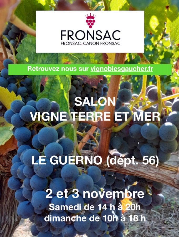 Salon Vigne terre et mer Le guerno (56) 2 et 3 Nov 2019