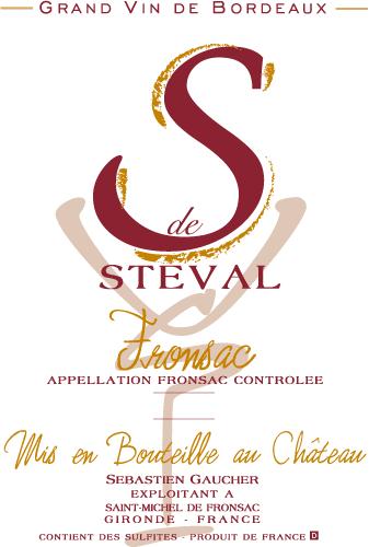 Fronsac S de Steval AOC Fronsac (33)