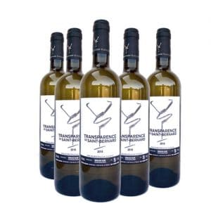Bordeaux blanc Transparence